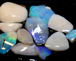 50 CTS -  COOBER PEDY WHITE OPAL ROUGH PARCEL  DT-6299
