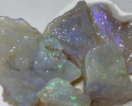 ADORABLE CRYSTAL SEAMS; 65 CTs of Lightning Ridge Rough Opal #1451