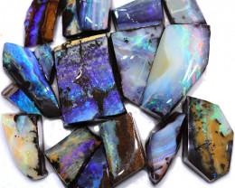 1000.00 Cts Parcel Boulder rubs Quilpie Opal Fields WS 1745