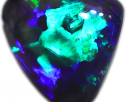 0.80 CTS BLACK OPAL STONE-FROM  OLD COLLECTION- [LROG814]