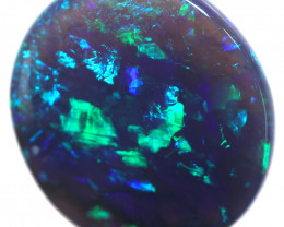 4.04 CTS BLACK OPAL STONE-FROM  OLD COLLECTION- [LROG835]