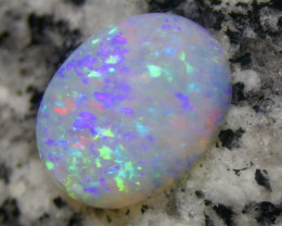 11.43ct  FULLY SATURATED EXTR BRIGHT HIGHDOME CRYSTAL OVAL OPAL