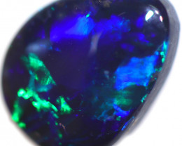 1.52 CTS BLACK OPAL STONE-FROM  OLD COLLECTION- [LROG844]