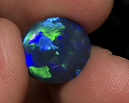 8.43ct Lightning Ridge Gem Black  Opal LRS939