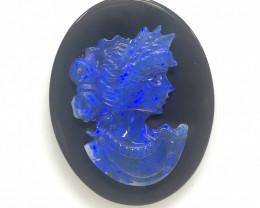 European style opal cameo OPJ 2521