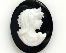 European style opal cameo OPJ 2530