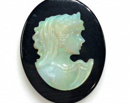 European style opal cameo OPJ 2526