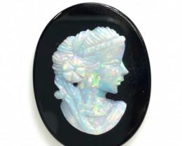 European style opal cameo OPJ 2531