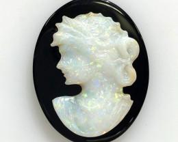 European style opal cameo OPJ 2533