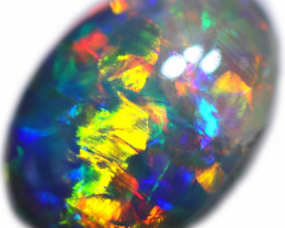 0.62 CTS BLACK OPAL STONE-FROM  OLD COLLECTION-4 [LROG852]