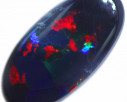 0.61 CTS BLACK OPAL STONE-FROM  OLD COLLECTION- [LROG854]