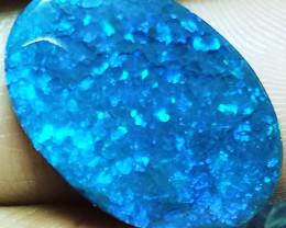 8.9Cts Lightning Ridge Blue stone ENY75