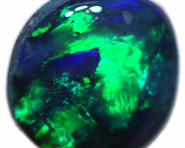 0.68 CTS BLACK OPAL STONE-FROM  OLD COLLECTION- [LROG855]