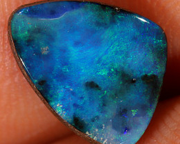 3.3ct 10x8.5mm Queensland Boulder Opal  [LOB-2954]