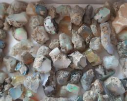 #1 (1/3)100 GR (500Carats) Mix quality welo opal rough