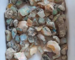 #2 (2/3)100 GR (500 Carats) Mix grade rough welo parcel