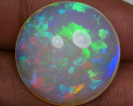 15.00 CRT AMAZING HUGE ROUND FULL COMPLETE COLORS WELO OPAL-