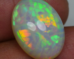 10.90 CRT VERY UNIQUE SQUARE HONEYCOMB PATTERN FULL COLOR WELO OPAL-