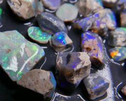 Rough Opal Lot 275.00 cts Black Opals Lightning Ridge BORA7S191019