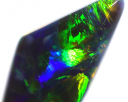 0.89 CTS BLACK OPAL STONE-FROM  OLD COLLECTION- [LROG861]