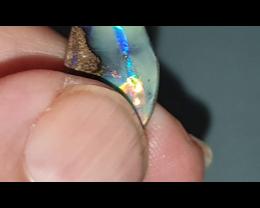 11.2 Ct Boulder Opal from Opalton (J)