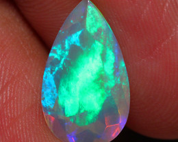2.68 CT Extra Fine Quality Faceted Cut Ethiopian Opal -DF202
