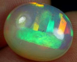 Wholesale 5.55cts Ribbon Pattern Natural Ethiopian Welo Opal
