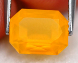 Mexican Opal 1.74Ct Natural Faceted Mexican Fire Opal G2511