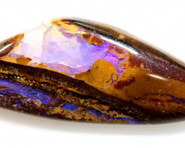 13.15 CTS  BOULDER WOOD OPAL FOSSIL STONE    NC-6835