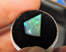 2.20ct STRIKING ETHIOPIAN WELO MULTI FIRE MASTERCUT GEM OPAL - NEW ARRIVAL