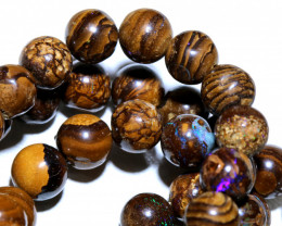 175 CTS BOULDER OPAL BEADS  STRANDS TBO-10015