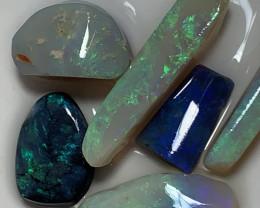 SUPER CLEAN RUBS; 47 CTs of Lightning Ridge Opal Rubs #1511