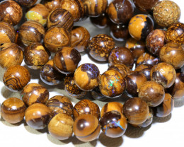 152.50- CTS BOULDER OPAL BEADS  STRANDS TBO-10030