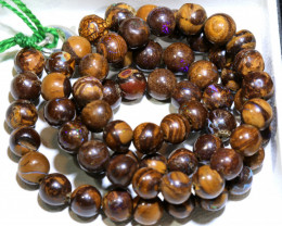 125- CTS BOULDER OPAL BEADS  STRANDS TBO-10031