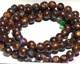 115- CTS BOULDER OPAL BEADS  STRANDS TBO-10037