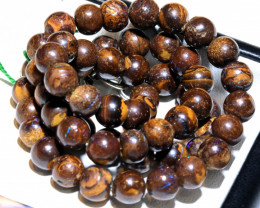 195- CTS BOULDER OPAL BEADS  STRANDS TBO-10039