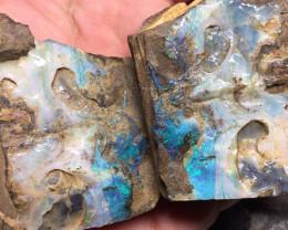 715 cts - Boulder opal split - AE20