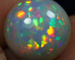 6.80cts Floral Patchwork Pattern Natural Eth. Welo Opal
