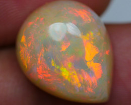 6.90 CRT GORGEOUS DARK BASE FIRE CHAFF PATTERN PLAY COLOR WELO OPAL