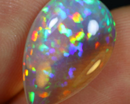 -25% Black Friday- 5.55cts Rainbow Cell Pattern Natural Eth. Welo Opal