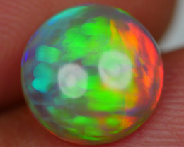 1.55 CRT STUNNING ROUND RAINBOW NEON COMPLETE COLOR WELO OPA