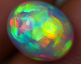 2.00 CRT ULTRA BRIGHT! 5/5 NEON PUZZLE PATTERN  MULTICOLOR WELO OPAL