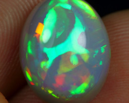 5.05cts Rolling Flash Fire Natural Ethiopian Welo Opal
