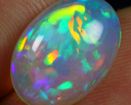 4.60cts Rainbow Patchwork Natural Eth. Welo Opal