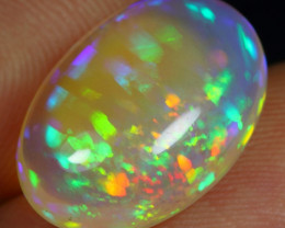 8.30cts STRAW PARALLEL PATTERN Natural Eth. Welo Opal