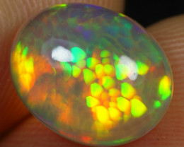11.11- 4.10cts Crystal Fish Scale Honeycomb Natural Ethiopian Welo Opal
