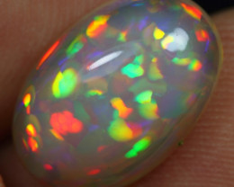 -25% Black Friday- 4.25cts High Density Floral Natural Ethiopian Welo Opal