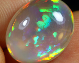 7.30cts Cell Pattern Natural Ethiopian Welo Solid Crystal Opal