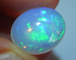 4.95 ct Ethiopian Gem Blue Green Welo Opal Cab M430