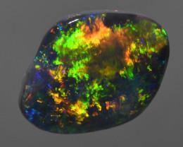 1.90 CT High Flash Solid Black Opal b301